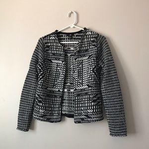 H&M open front cardigan jacket